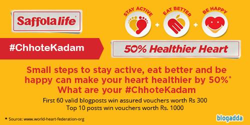 Saffola Life – ChhoteKadam to Healthy life