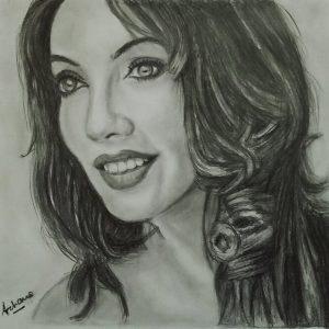 Sketch of Bandana Vadehra