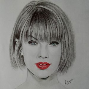 Sketch of Taylor Swift