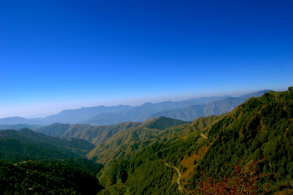 Chakrata, a land of Misty Mountains