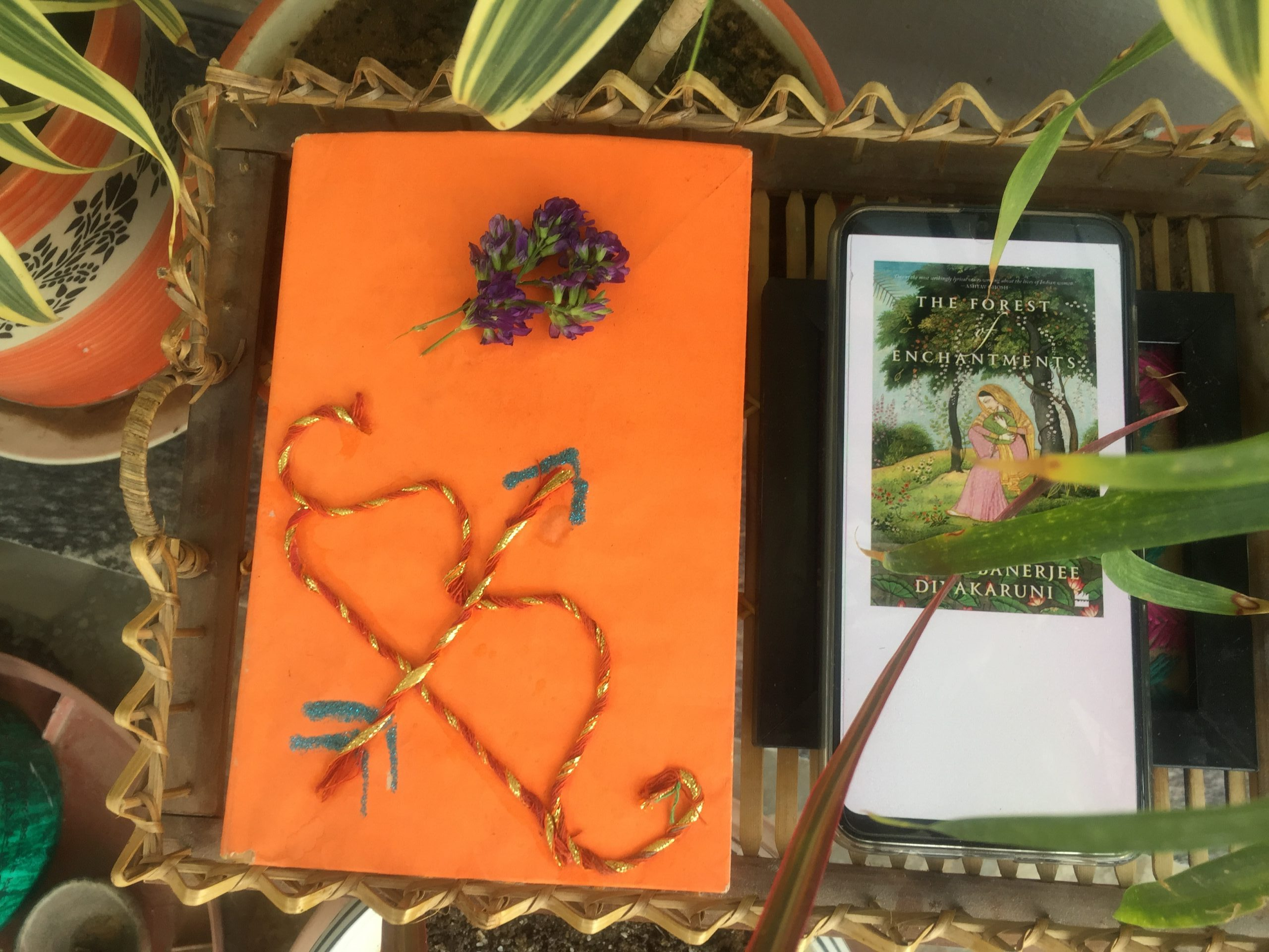 the forest of enchantments by Chitra Divya  Banerjee quotes and book review