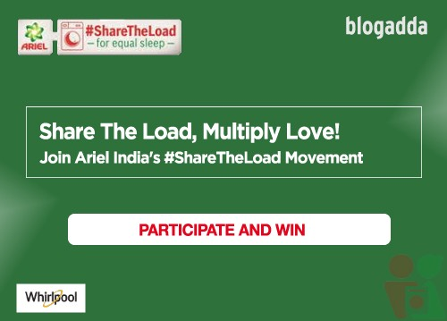Sharing the load multiplies love, magic of Ariel India