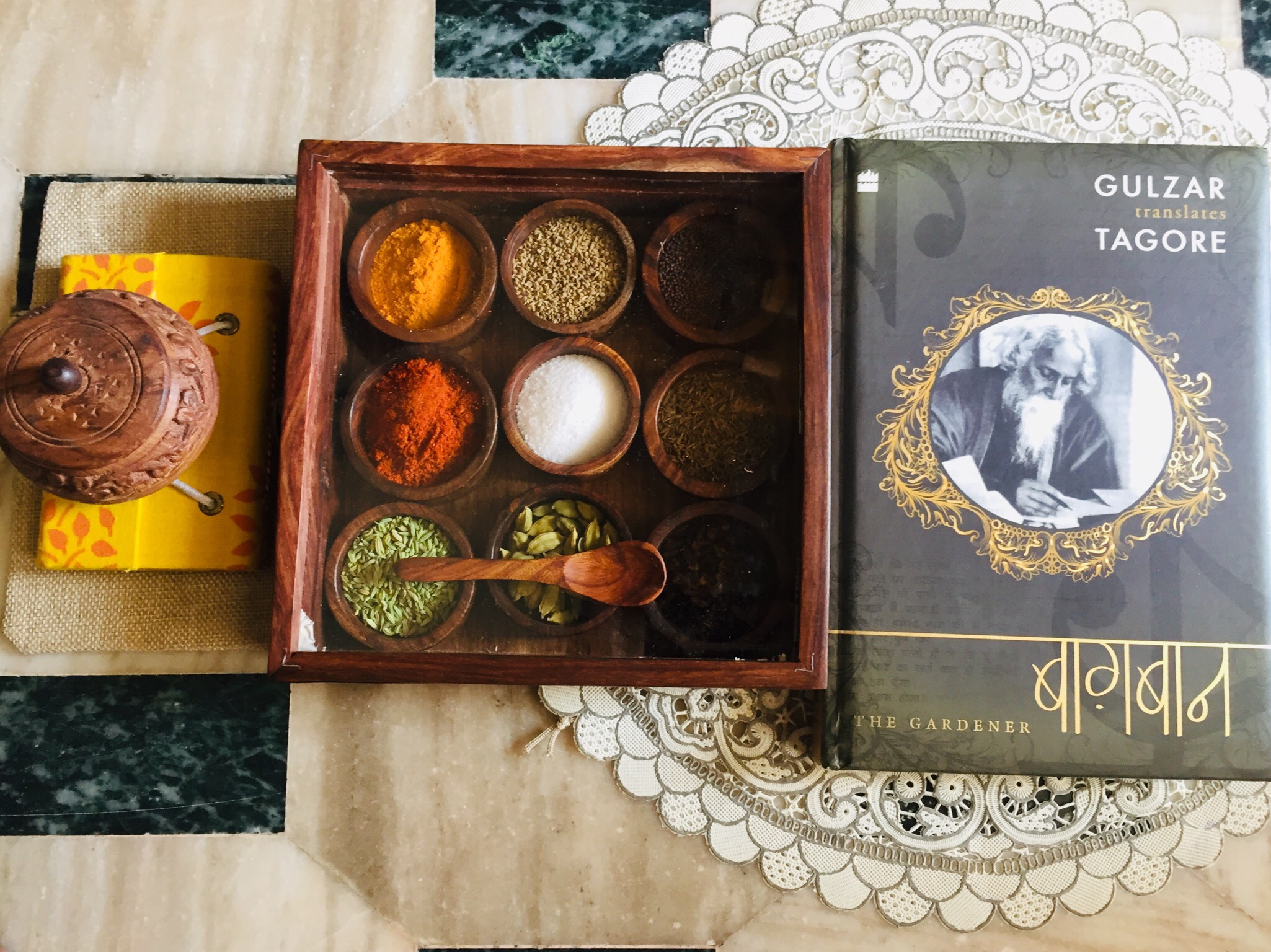 review of sheesham wood spice box from iTokri