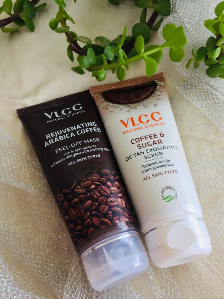 VLCC coffee and sugar scrub